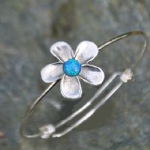 Flower bangle EB02